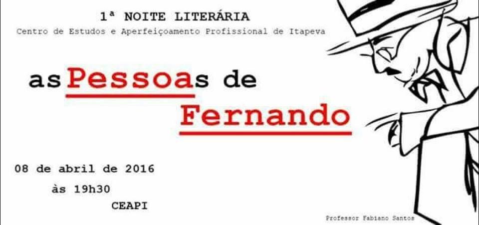 Fernando Pessoa é destaque em noite literária