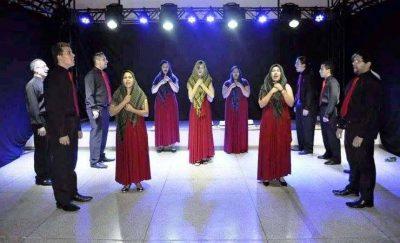 Madrigal realiza oficina de canto em Itapeva