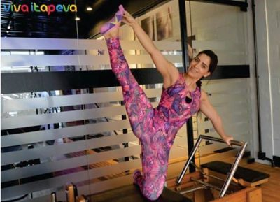 Thaís Mendes conta como obter força, definição e equilíbrio por meio do pilates