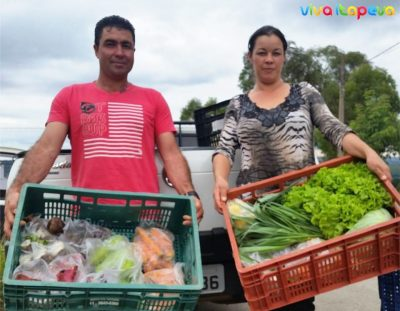 Agricultores produzem e comercializam cesta de alimentos orgânicos em Itapeva