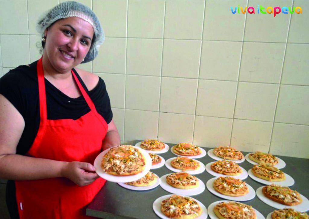 A empresária e cozinheira Priscila Rodrigues de Souza