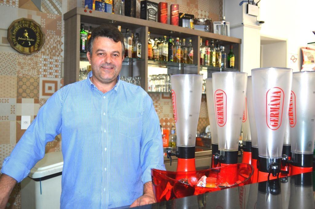 O empresário Adriano Luiz Sima
