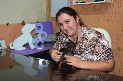 Veterinária aposta em consultas divertidas para diagnósticos de problemas de saúde em animais de estimação