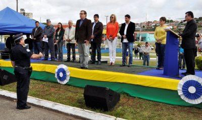 Ato cívico marca as comemorações de 7 de Setembro em Itapeva