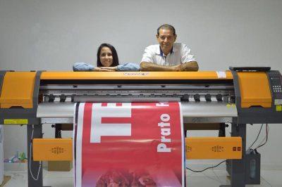 Serigraf inova e traz impressora digital de banners