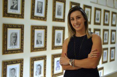 Patrícia Campos é exemplo de determinação e competência