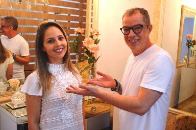 Dani Macedo firma parceria com Edson Moraes