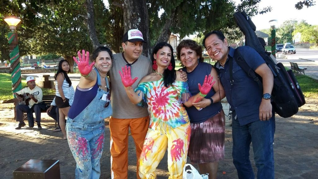 Linda Costa, Luiz Marcelo Bonilha, Eliana dos Santos, Edite Irene e Fernando Diaz