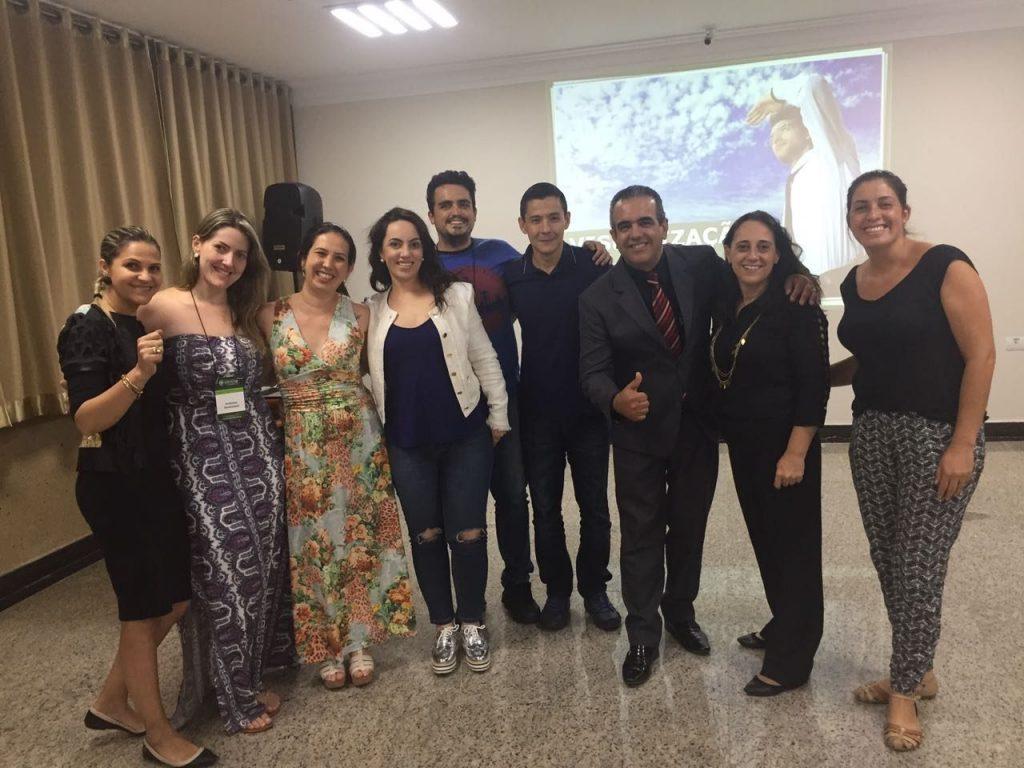 Luiz Mattos e participantes do último curso realizado em Itapeva