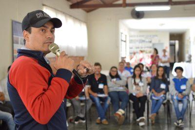 O palestrante Thiago Azeredo