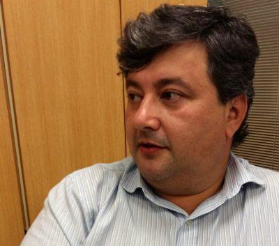 O gerente comercial Marcelo Camargo, do Ouroville Itapeva