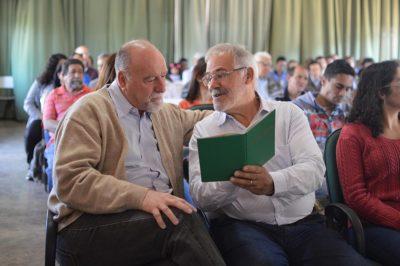 O prefeito Luiz Cavani e o presidente do Sindicato Rural de Itapeva