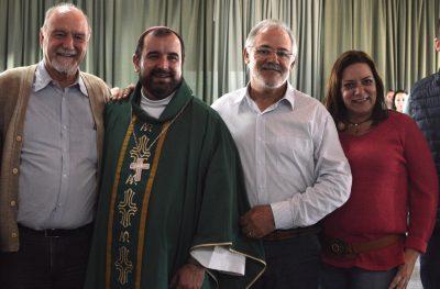 Luiz Cavani, Dom Arnaldo, Dagoberto Mariano e Marimar Guidorzi de Paula