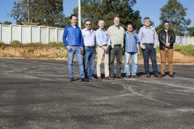 Paulo Simões, Darby Moreno, Araldo Marcondes, Luiz Cavani, Milton Junior, Marco André D'Oliveira e Luciano de Oliveira