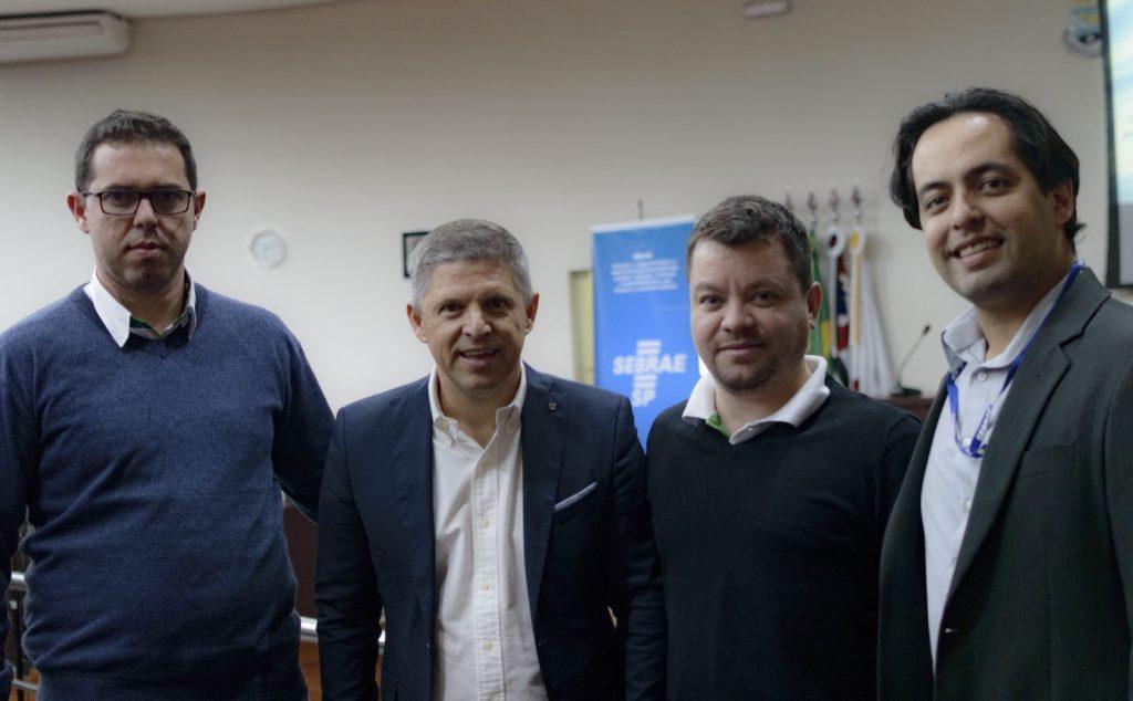 Reginaldo Chiavini, Erik Penna, Josué Santos e Rafael Barreto
