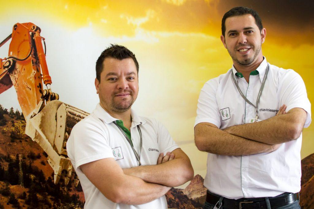 Josué Santos e Reginaldo Chiavini são os fundadores da empresa que atua em todo país