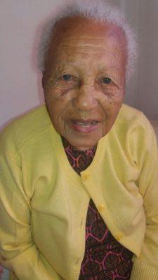 Elza, com 102 anos