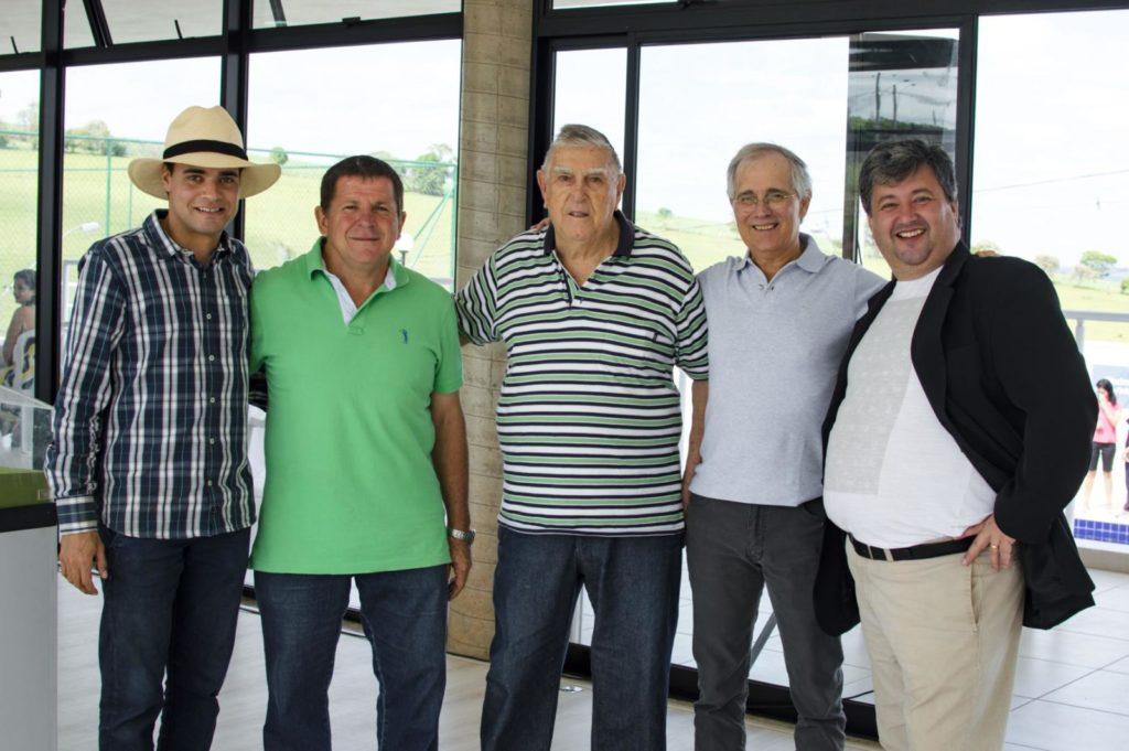 Serginho Gonçalves, Milton Festa Junior, Sergio Gonçalves, Araldo Marcondes e Marcelo de Camargo