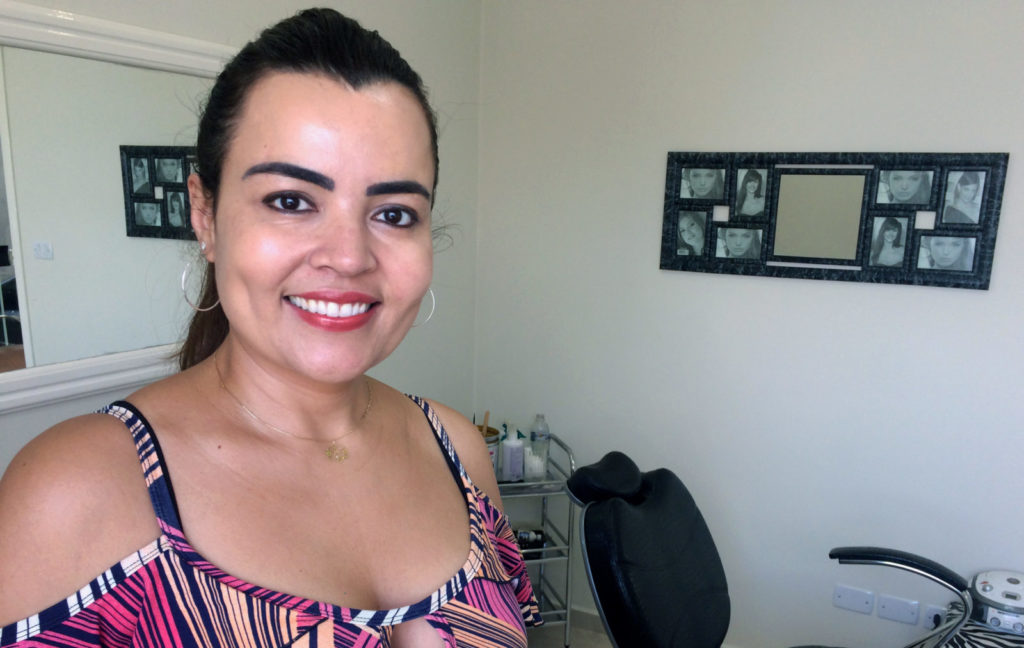 A empresária Cristiane Bonilha ampliou o espaço e os serviços do seu salão