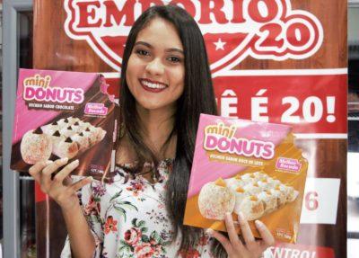 Empório 20 traz donuts recheados