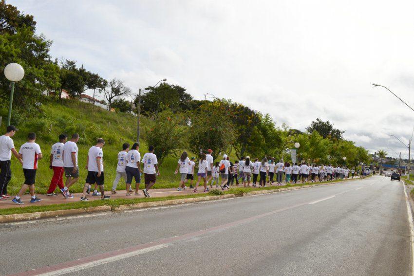 Na edição passada, a corrida reuniu mais de 200 pessoas