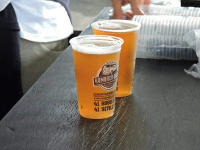 Cervejas e chopp artesanais estão entre os destaques do evento