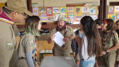 Grupo de Escoteiros promove atividades com escolas em Itapeva