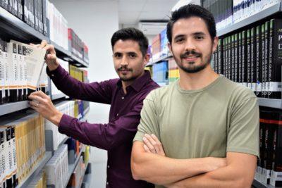 Os irmãos gêmeos Danilo e Diego decidiram cursar juntos a faculdade de Direito
