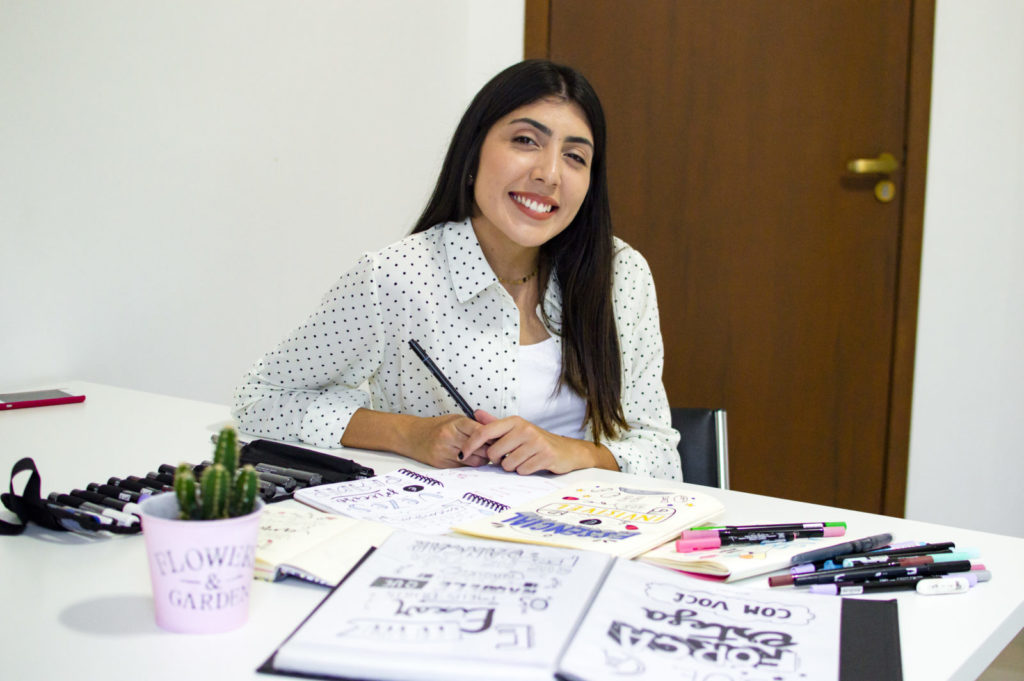 Tipo Paty, a it girl do lettering