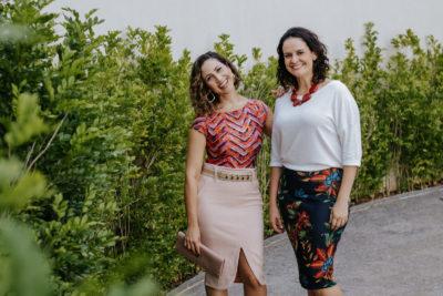 Claudia de La Rua e Fernanda Duarte Cavani mobilizam mulheres nas redes sociais