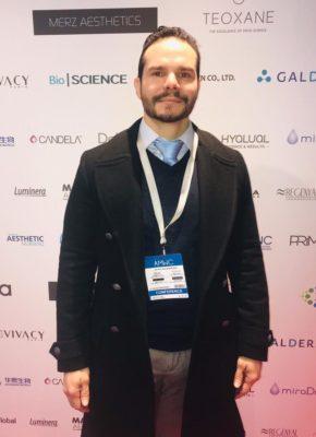 Dr Hermes durante o congresso em Mônaco