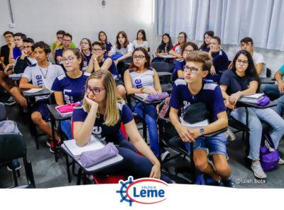 Colégio Leme tem vagas abertas para cursinhos pré-vestibulares