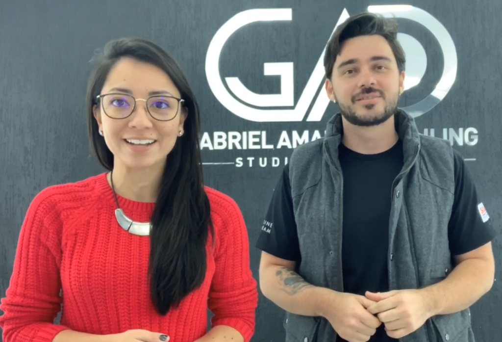 Aline e Gabriel