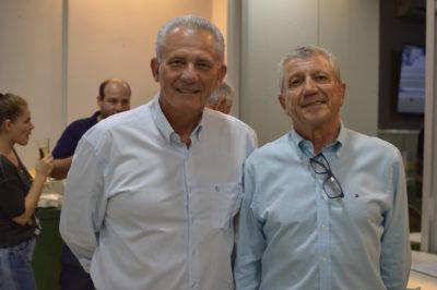 Fernando Butzer e o delegado Dr Alaor de Aguiar