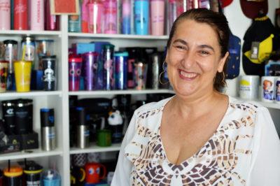 Rose concilia os trabalhos no escritório de advocacia e na loja inaugurada em 2018