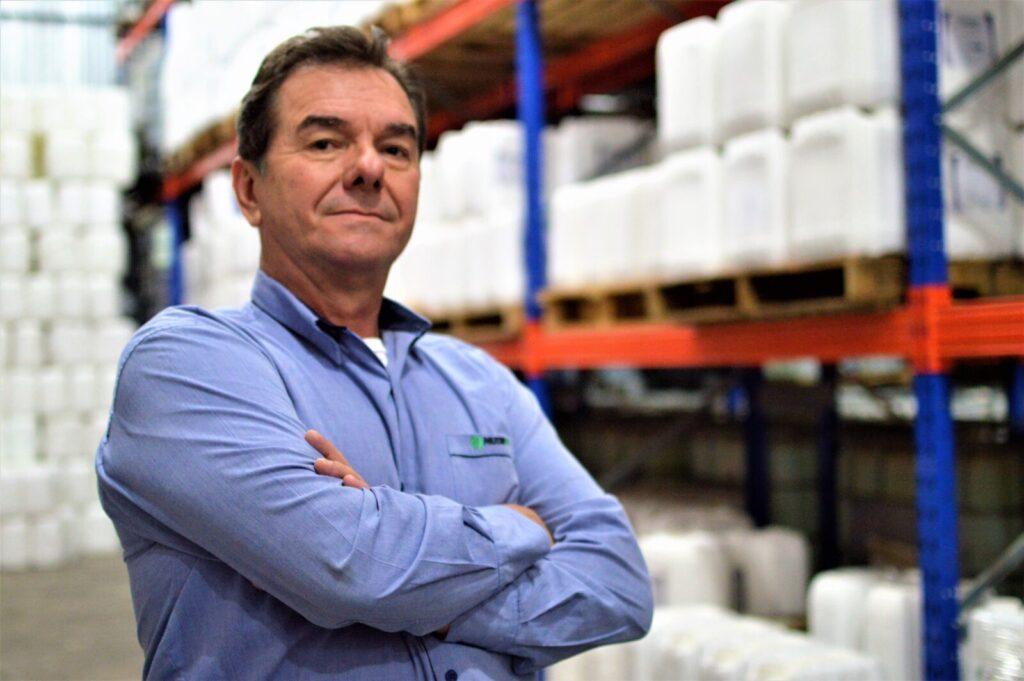 Nelson Schreiner Junior é um empresário do setor agro e apoia o tratoraço