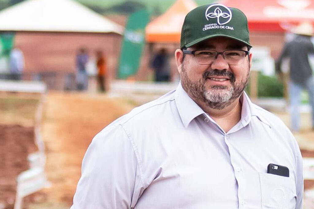 David Latapiat, gerente geral da Sementes Cerrado de Cima
